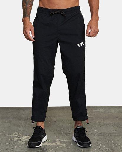 0 Bedwin IPFU - Pantalon de jogging pour Homme Noir W4PTMGRVP1 RVCA