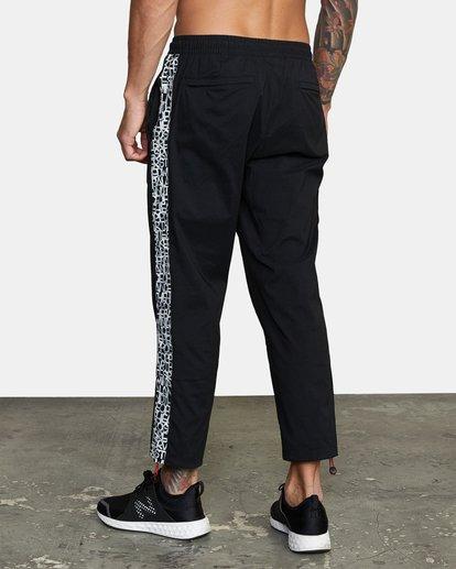 3 Bedwin IPFU - Pantalon de jogging pour Homme Noir W4PTMGRVP1 RVCA