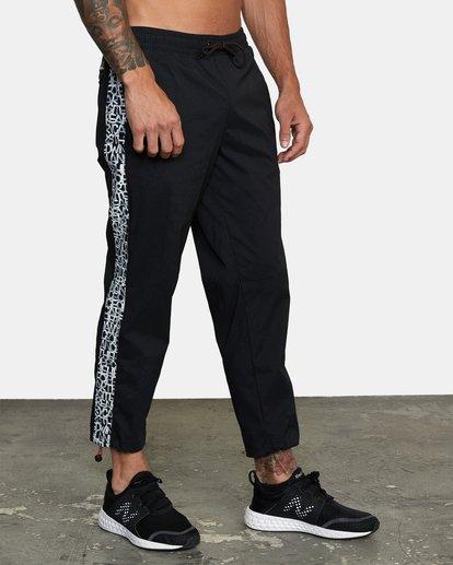 5 Bedwin IPFU - Pantalon de jogging pour Homme Noir W4PTMGRVP1 RVCA