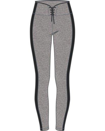 7 Everlast x RVCA Lace Up - Legging de sport taille haute pour Femme Gris W4PTWDRVP1 RVCA