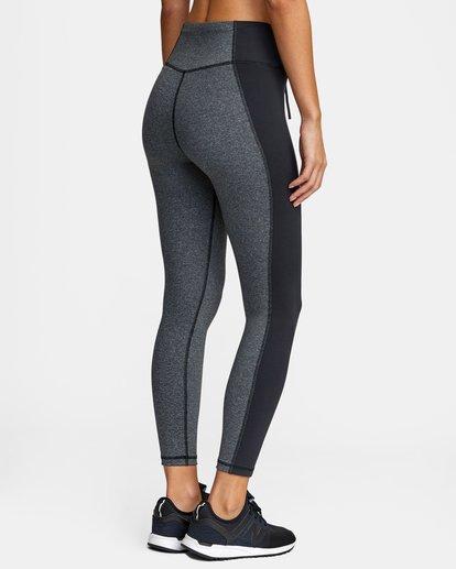 5 Everlast x RVCA Lace Up - Legging de sport taille haute pour Femme Gris W4PTWDRVP1 RVCA