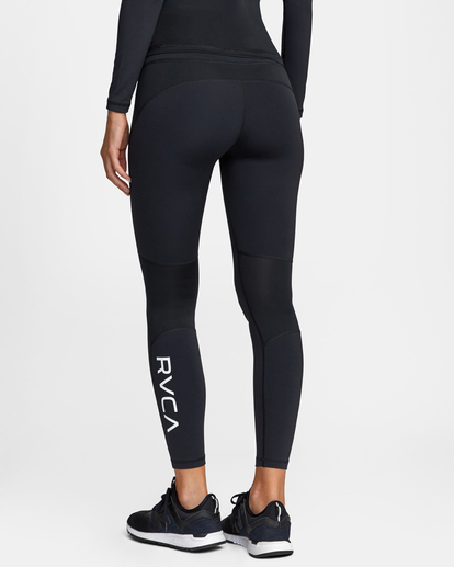 5 Compression - Legging de sport pour Femme Noir W4PTWHRVP1 RVCA