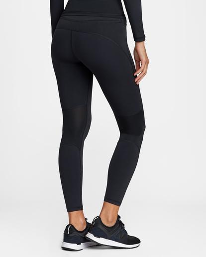 6 Compression - Legging de sport pour Femme Noir W4PTWHRVP1 RVCA