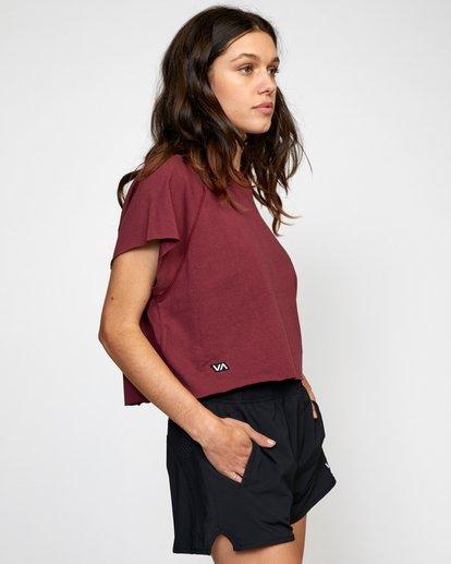5 Everlast Raglan Muscle - T-shirt sans manches pour Femme Marron W4TPWFRVP1 RVCA