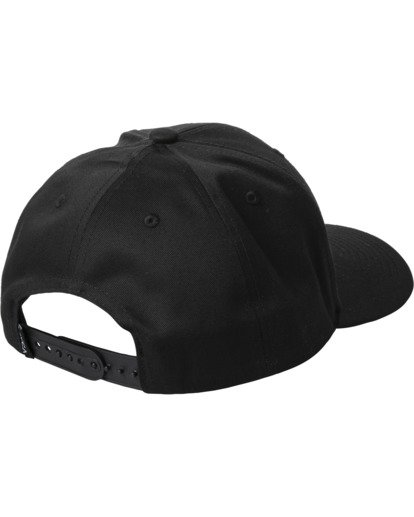 1 Recession Collection Dayshift - Snapback Cap for Men Black W5CPRKRVP1 RVCA