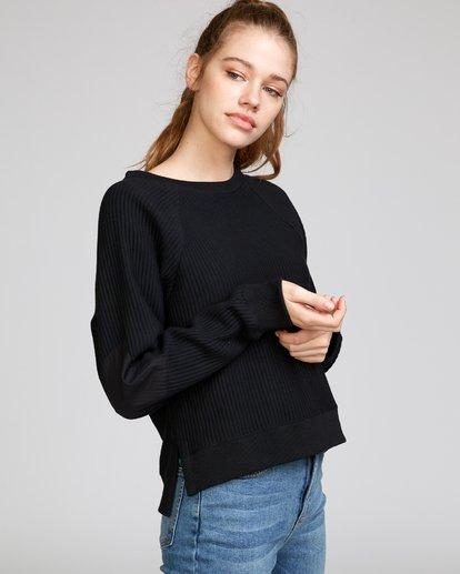 2 Leverage Fleece Sweatshirt Black W602VRLE RVCA