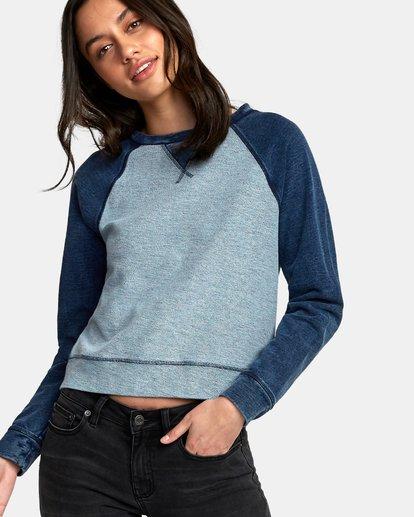 2 Swing It Fleece Sweatshirt  W603WRSW RVCA