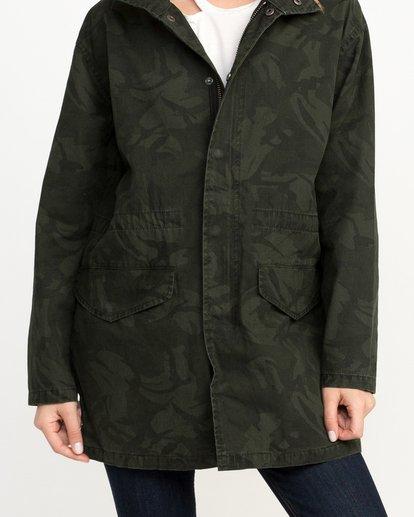 2 Racket Longline Anorak Jacket  W704QRRA RVCA