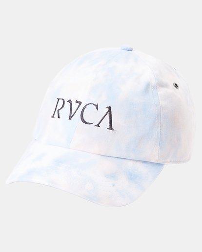 4 Staple Dad Hat Grey WAHWWRST RVCA