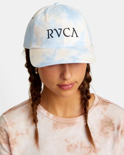 2 Staple Dad Hat Grey WAHWWRST RVCA