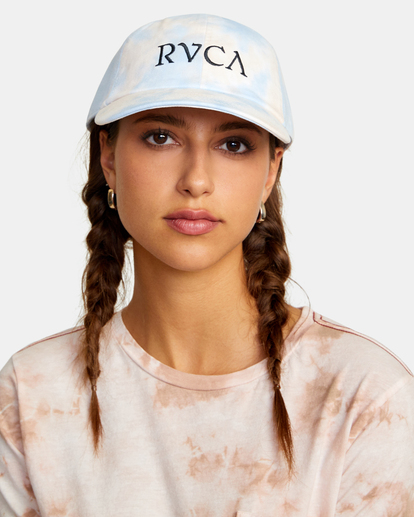 0 Staple Dad Hat Grey WAHWWRST RVCA