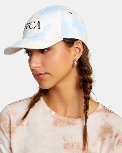 3 Staple Dad Hat Grey WAHWWRST RVCA