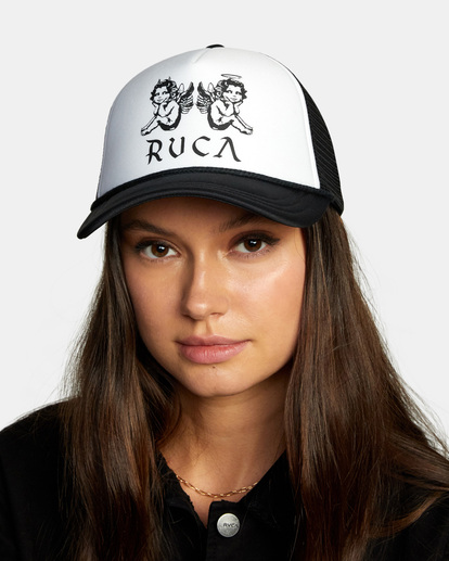 0 Unphased Trucker Hat Black WAHWWRUN RVCA