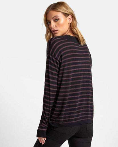 1 Abundant Lightweight Sweater  WV01WRAB RVCA