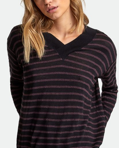 2 Abundant Lightweight Sweater  WV01WRAB RVCA