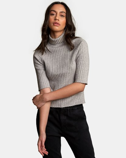 0 Believer Ribbed Sweater  WV10WRBE RVCA