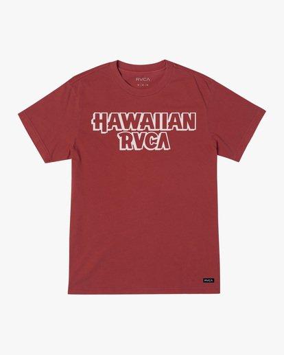 0 Evan Mock RVCA Punch - T-shirt pour Homme Rouge X1SSRHRVS1 RVCA