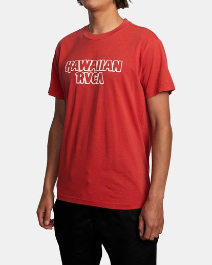 3 Evan Mock RVCA Punch - T-shirt pour Homme Rouge X1SSRHRVS1 RVCA