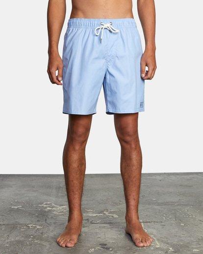 1 Opposites Elastic - Short de bain pour Homme Bleu X1VORCRVS1 RVCA