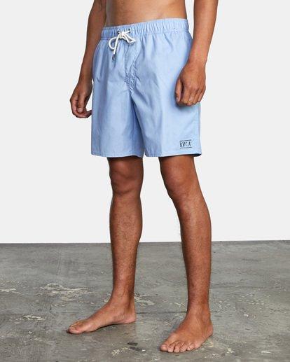 3 Opposites Elastic - Short de bain pour Homme Bleu X1VORCRVS1 RVCA