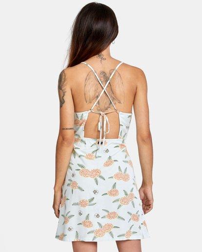 2 Luke Pelletier Floral - Robe sans manches pour Femme Vert X3DRRCRVS1 RVCA