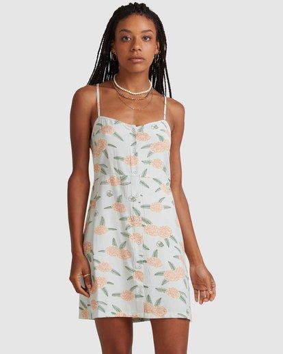 1 Luke Pelletier Floral - Robe sans manches pour Femme Vert X3DRRCRVS1 RVCA