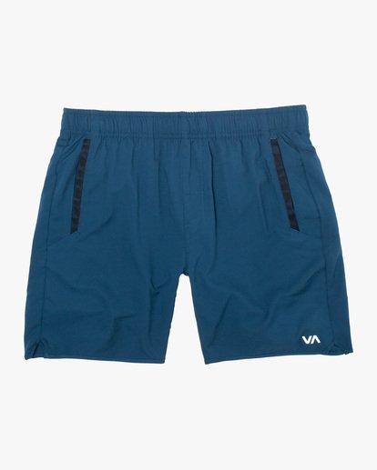 0 VA Sport Yogger IV - Short elástico para Hombre Azul X4WKMLRVMU RVCA