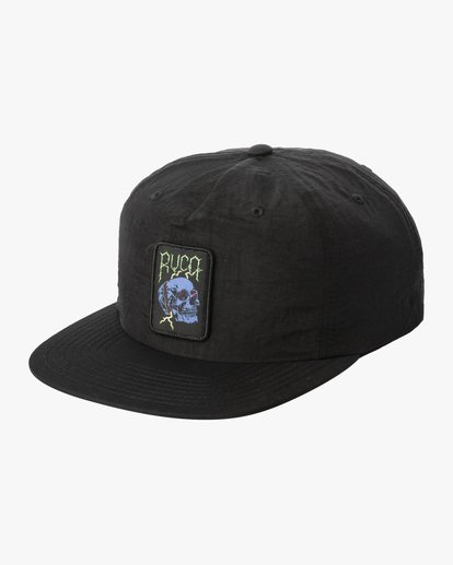 0 Lockdown - Strapback Cap for Men Black X5CPRERVS1 RVCA