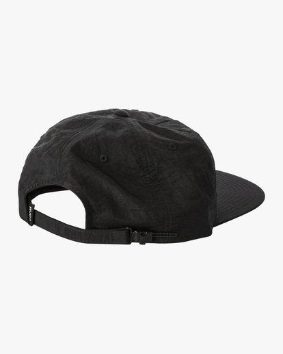 1 Lockdown - Strapback Cap for Men Black X5CPRERVS1 RVCA