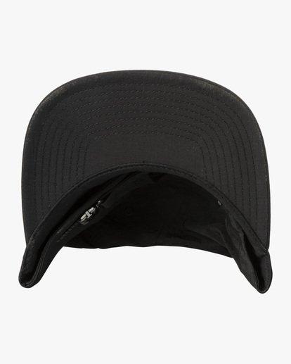 2 Lockdown - Strapback Cap for Men Black X5CPRERVS1 RVCA