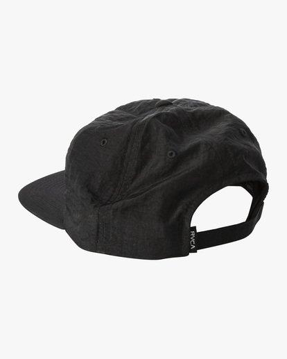 3 Lockdown - Strapback Cap for Men Black X5CPRERVS1 RVCA