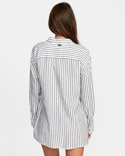 1 EDEN DRESS White XC013RED RVCA