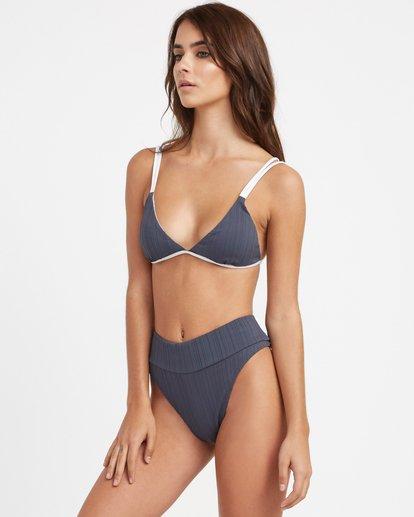 3 Linear Ribbed Bralette Bikini Top  XT15TRLB RVCA