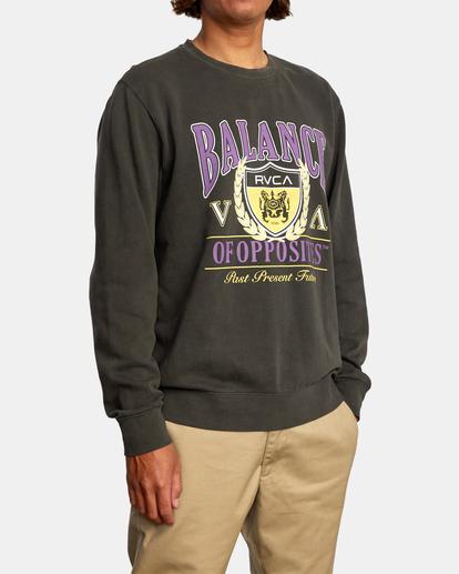 5 Cambridge - Sweatshirt for Men Black Z1CRRGRVF1 RVCA