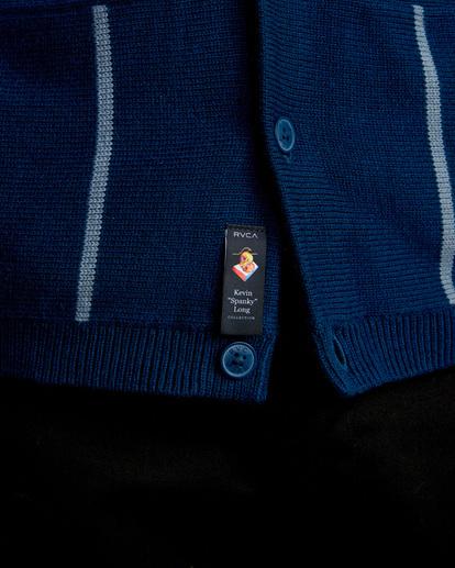 6 Kevin Spanky Long Okapi - Pull pour Homme Bleu Z1JPRERVF1 RVCA