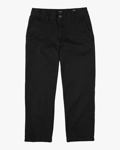 0 Kevin Spanky Long Okapi - Pantalones para Hombre Negro Z1PTRHRVF1 RVCA