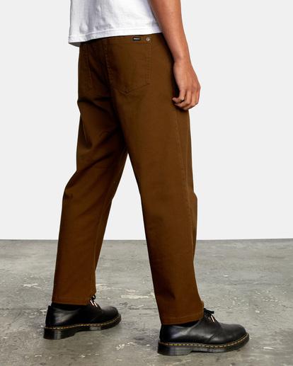 5 Kevin Spanky Long Okapi - Trousers for Men Brown Z1PTRHRVF1 RVCA