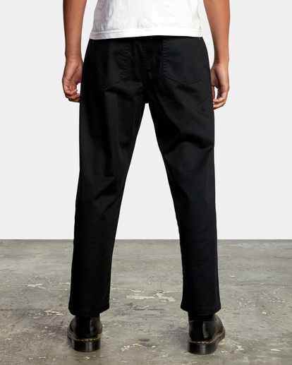 2 Kevin Spanky Long Okapi - Pantalones para Hombre Negro Z1PTRHRVF1 RVCA