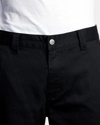 7 Kevin Spanky Long Okapi - Pantalones para Hombre Negro Z1PTRHRVF1 RVCA