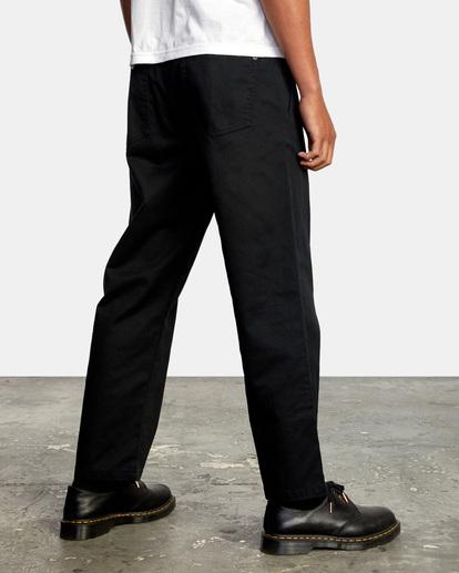 5 Kevin Spanky Long Okapi - Pantalones para Hombre Negro Z1PTRHRVF1 RVCA