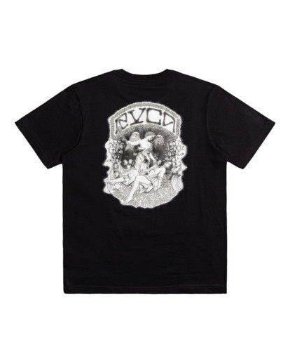 0 St Margret - T-shirt pour Homme Noir Z1SSRARVF1 RVCA