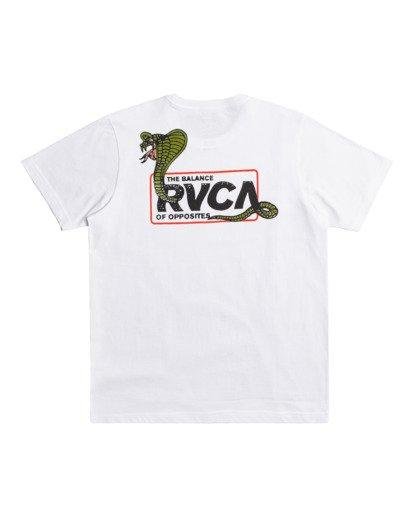 0 Snake Eyes - T-shirt pour Homme Blanc Z1SSRCRVF1 RVCA