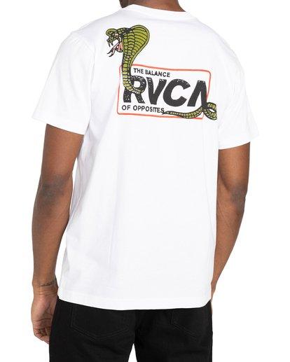 3 Snake Eyes - T-shirt pour Homme Blanc Z1SSRCRVF1 RVCA