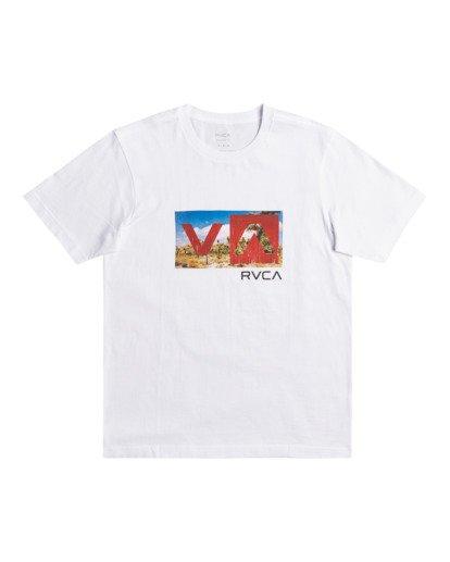 0 Balance Box - T-shirt pour Homme Blanc Z1SSRFRVF1 RVCA