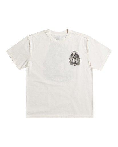 1 George Thompson Skull Bonnet - T-shirt pour Homme Blanc Z1SSRMRVF1 RVCA