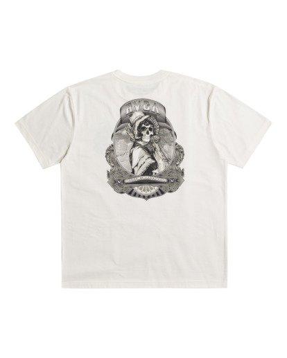 0 George Thompson Skull Bonnet - T-shirt pour Homme Blanc Z1SSRMRVF1 RVCA