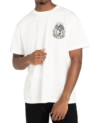 2 George Thompson Skull Bonnet - T-shirt pour Homme Blanc Z1SSRMRVF1 RVCA