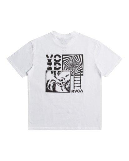0 Void - T-shirt pour Homme Blanc Z1SSRNRVF1 RVCA
