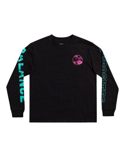 1 Cobra University - T-shirt pour Homme Noir Z1SSRPRVF1 RVCA