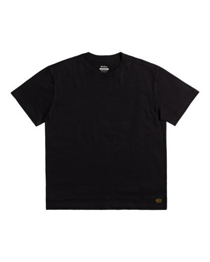 0 Recession - T-shirt pour Homme Noir Z1SSRURVF1 RVCA